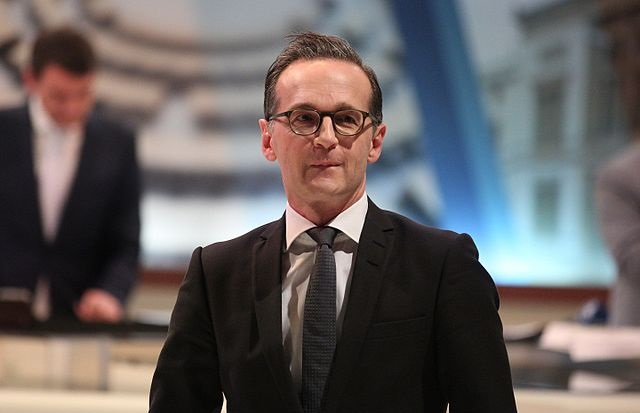 Глава немецкой дипломатии Хайко Маас