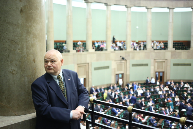 On Friday, MPs voted in favour of appointing Adam Glapiński as the new head of the National Bank of Poland (NBP). Photo: PAP/Leszek Szymański