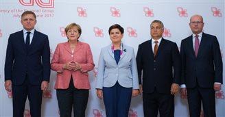 Szczyt V4 i Niemcy w Warszawie