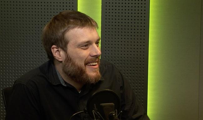 Adrian Zandberg. Photo: Radio Poland