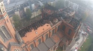 Masses resume at devastated cathedral