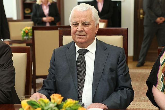 Один з підписантів звернення Леонід Кравчук під час візиту до Сенату Польщі у 2013 році