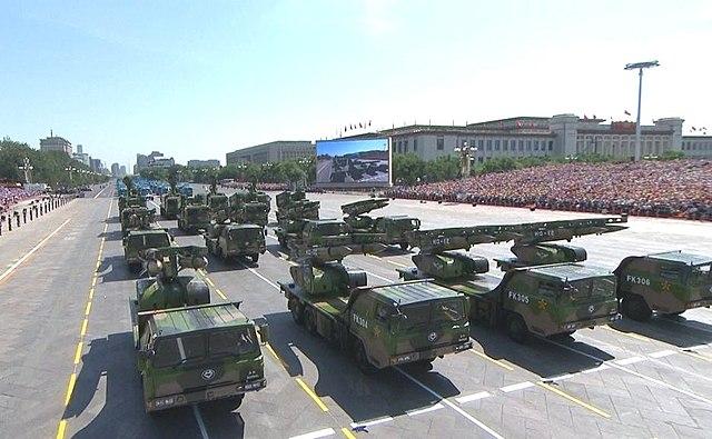 Военный парад в честь 70-й годовщины Победы китайского народа в войне сопротивления Японии и окончания Второй мировой войны