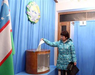 Жыхары Ўзбэкістану выбіраць прэзыдэнта (ФОТА)