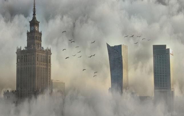 Smog über Warschau