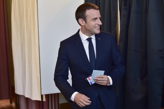 Президент Франції Емманюель Макрон, 18 червня 2017 року