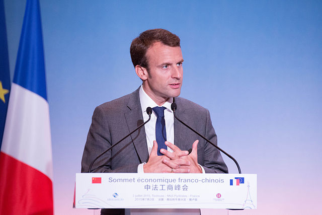 French President Emmanuel Macron. Photo: Pablo Tupin-Noriega/Wikimedia Commons (CC BY-SA 4.0)