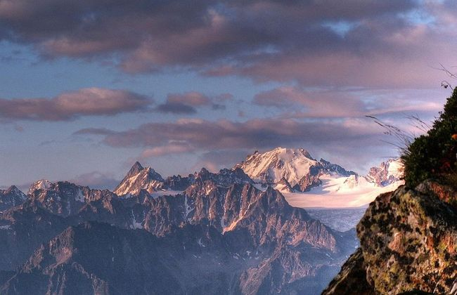 Mont Blanc. Photo: wikimedia commons