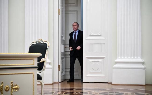 Путін на вході