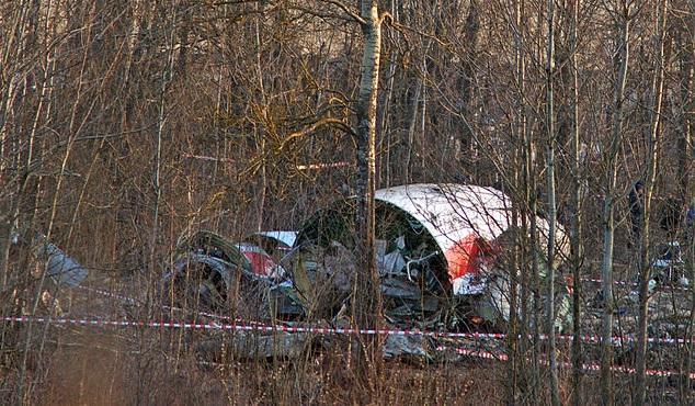 Место авиакатастрофы президентского Ту-154М