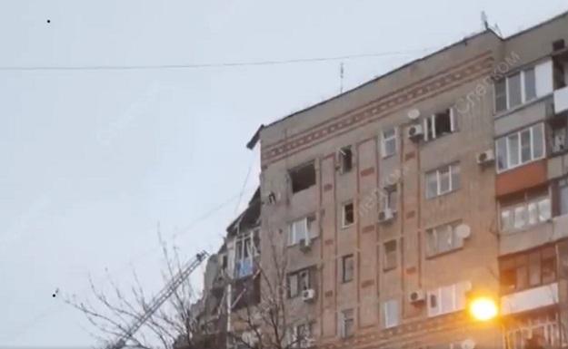 Последствия зрыва газа в жилом доме в Ростовской области