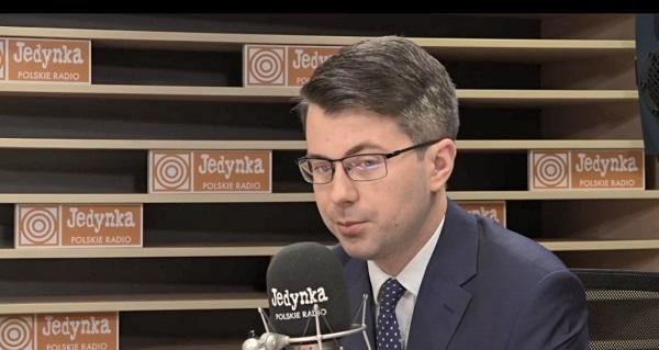 Пресс-секретарь правительства Польши Петр Мюллер