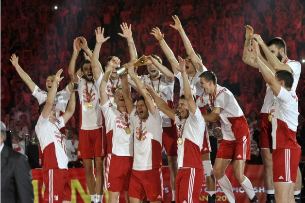 Polish team winning the World Championship in 2014. Photo: pzps.pl