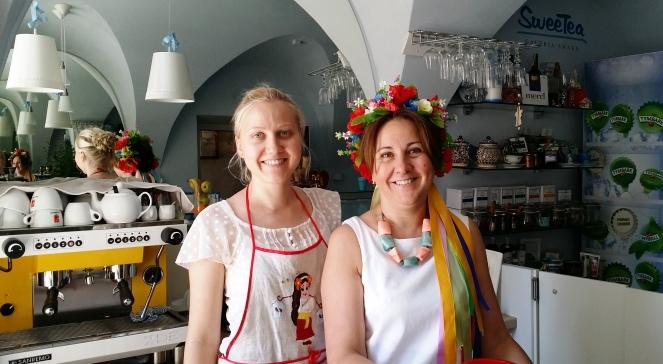 Дочка Женя і мама Світлана - SweeTea