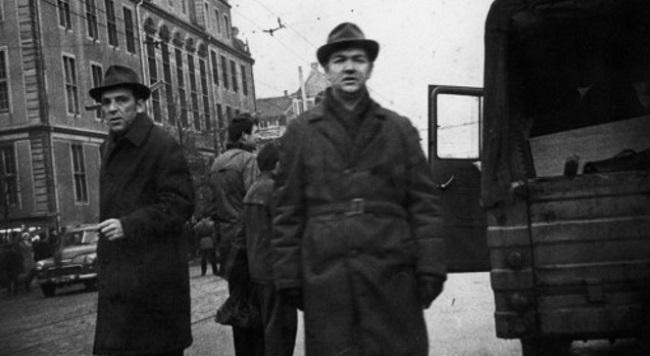 Сотрудники Службы безопасности ПНР в гражданском, 1970 г. Фото: polskieradio.pl