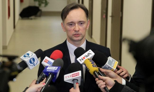 Прокурор города Элк Войцех Пиктель