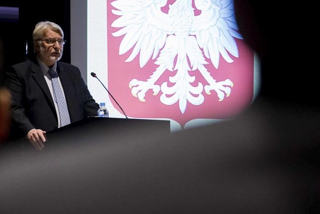 Polish Foreign Minister Witold Waszczykowski. Photo: Flickr.com/polandmfa