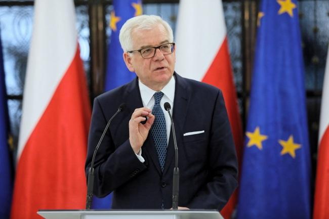 Jacek Czaputowicz. Photo: PAP/Leszek Szymański