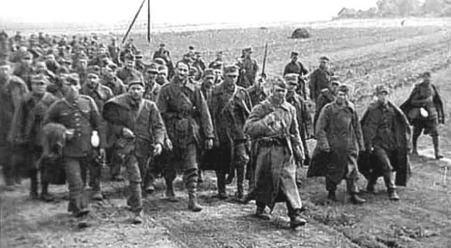 Польские военнопленные.