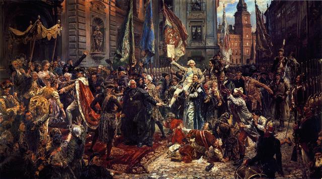 """Ян Матейко, """"Конституція 3 травня 1791 року"""""""