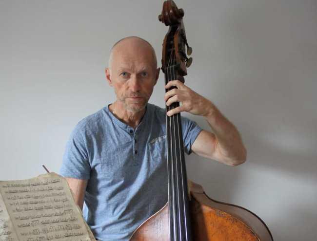 Waldemar Kozak, muzyk Narodowej Orkiestry Symfonicznej w Dublinie