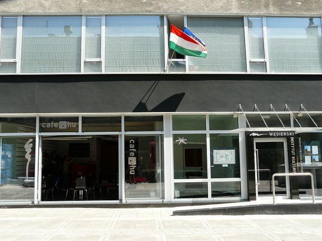 Венгерский институт культуры в Варшаве (ул. С. Монюшко, 10)