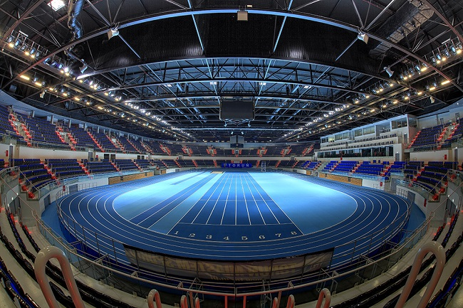 The Toruń Arena venue where the 2021 European Athletics Indoor Championships will be held. Photo: arenatorun.pl