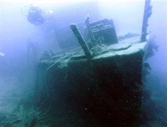 Auf der Suche nach Schiffswracks