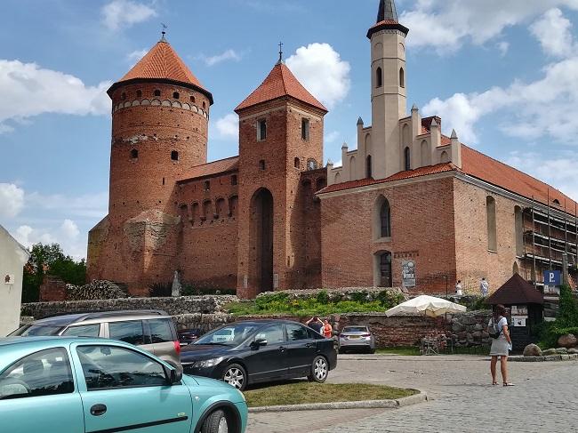 Замак у Рэшэлі.