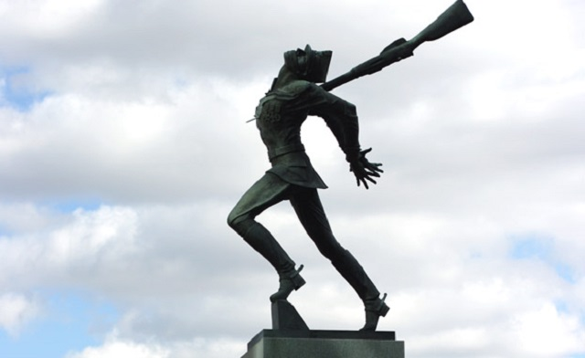 Памятник жертвам Катынского преступления 1940 года в Нью-Джерси