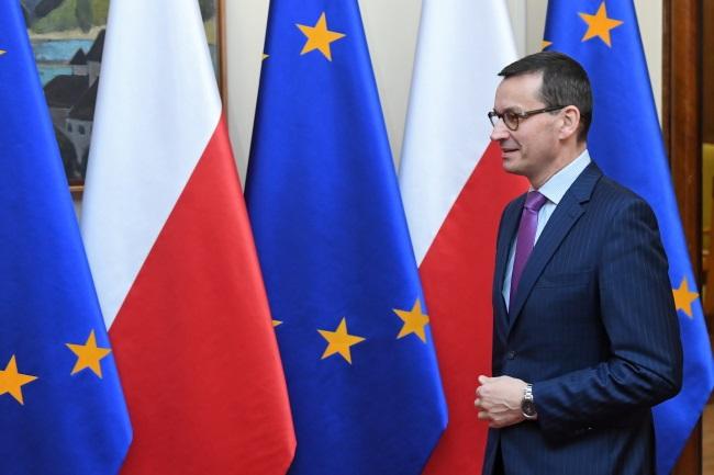 Polish Prime Minister Mateusz Morawiecki. Photo: PAP/Radek Pietruszka
