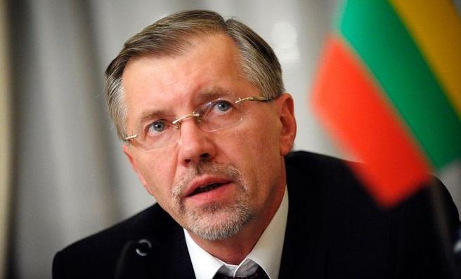 Vizepräsident des litauischen Parlaments Gediminas Kirkilas.