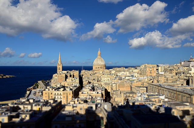 Valletta, Malta. Photo: Flickr.com/Andrea Santoni