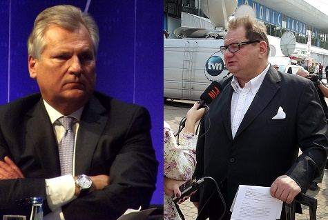 Aleksander Kwaśniewski (L) and Ryszard Kalisz (R) were allegedly recorded. Photo: Wikimedia Commons/Flickr.com