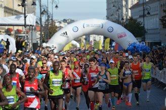 У столиці Польщі сьогодні відбувається Варшавий марафон