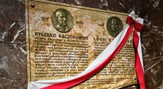 Chicago: A.Duda odsłonił tablicę dwóch prezydentów