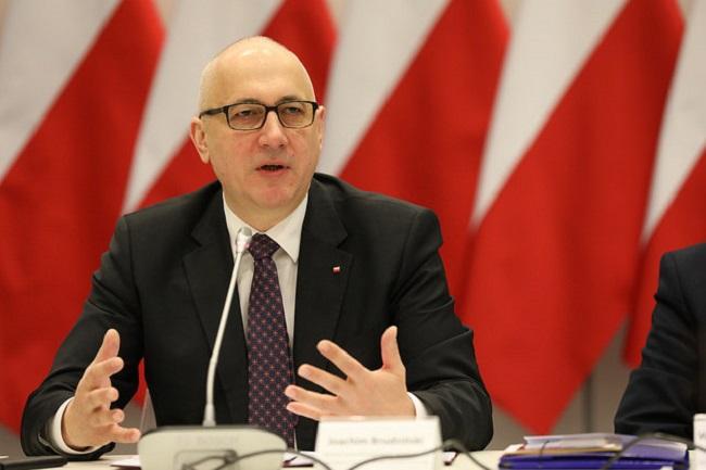 Innenminister Joachim Brudzinski