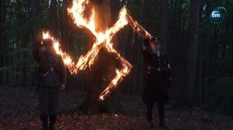 Польскія нэанацысты ўшаноўвалі памяць А. Гітлера