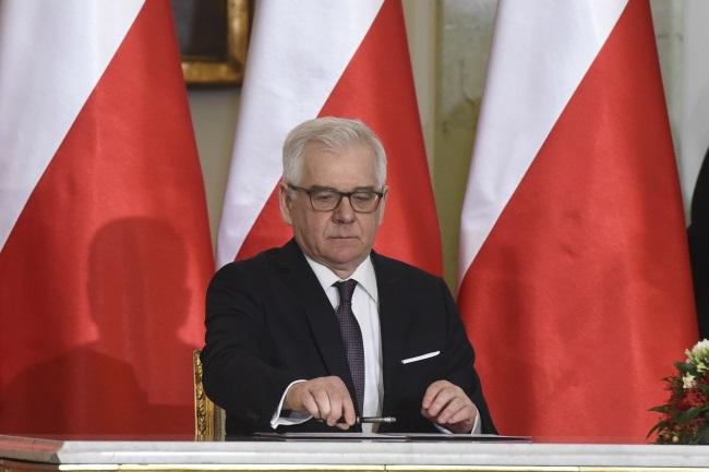 Jacek Czaputowicz. Photo: PAP/Radek Pietruszka