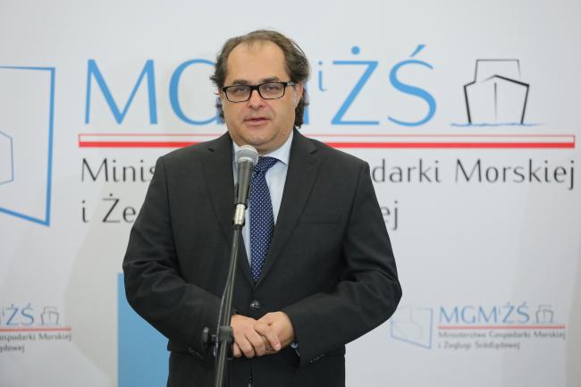 Міністр морської економіки та внутрішнього судноплавства Марек Ґрубарчик