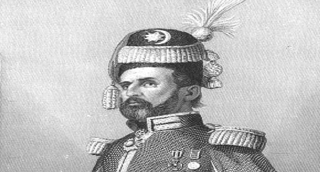 Михайло Чайковський як Садик Паша (сталерит авторства Антонія Олєщинського)