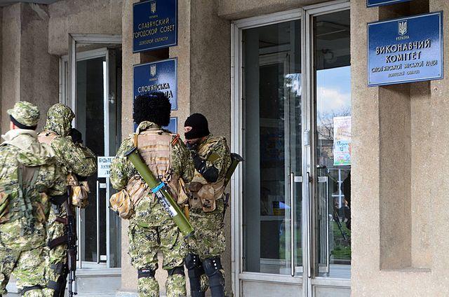 Окупований Слов'янськ, 14 квітня 2014 року