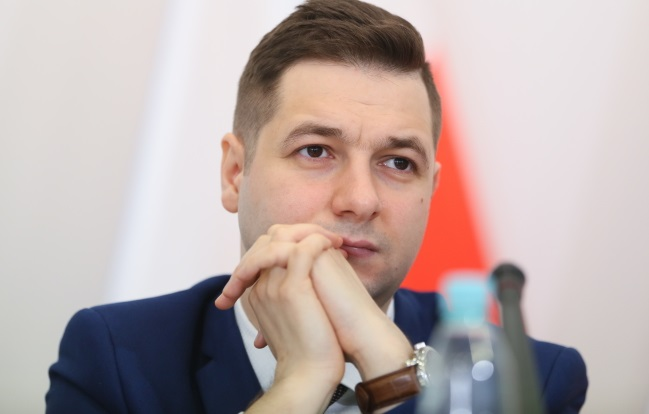 Patryk Jaki, head of the commission probing a property restitution scandal. Photo: PAP/Leszek Szymański