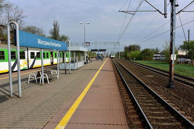 Зілазнична станція Варшава-Рембертув
