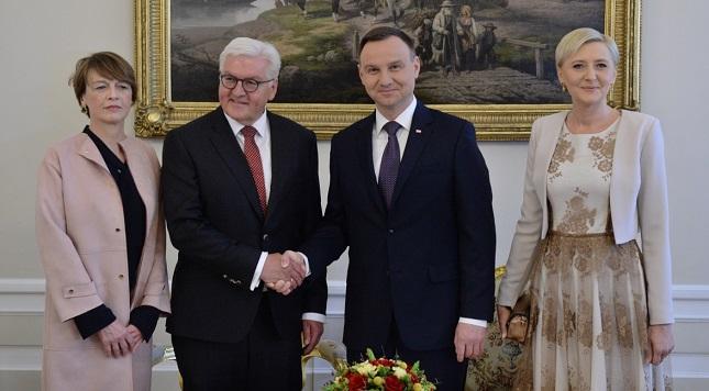 In Warschau trafen sich Bundespräsident Frank-Walter Steinmeier und Staatsoberhaupt Andrzej Duda.