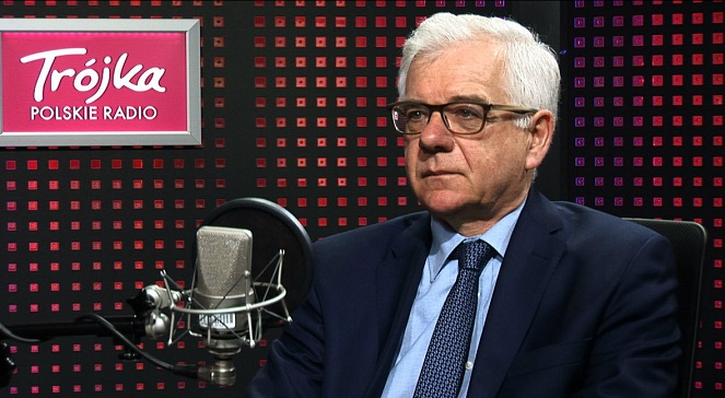 Министр иностранных дел Польши Яцек Чапутович.