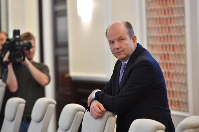 Health Minister Konstanty Radziwiłł. Photo: PAP/Bartłomiej Zborowski