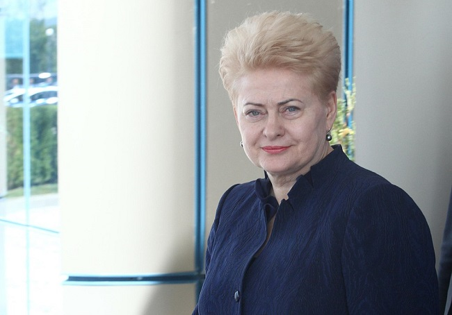 Lithuanian President Dalia Grybauskaite. Photo: EU2018BG Bulgarian Presidency [CC BY 2.0 (https://creativecommons.org/licenses/by/2.0)], via Wikimedia Commons