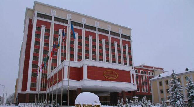 Budynek Ministerstwa Spraw Zagranicznych Białorusi - zdjęcie ilustracyjne