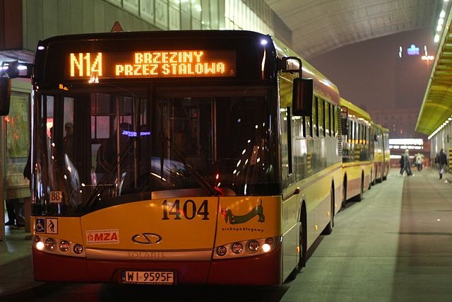 A bus in Warsaw. Photo: Wikimedia Commons